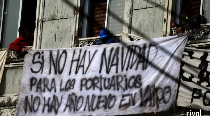 Trabajadores portuarios denuncian: Von Appen no cumple acuerdo, las bases se declaran en alerta
