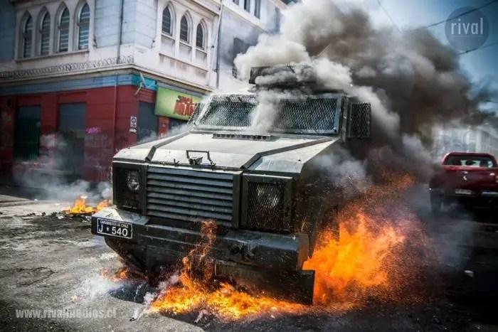 Piñera, derrotado en Valparaíso por los portuarios