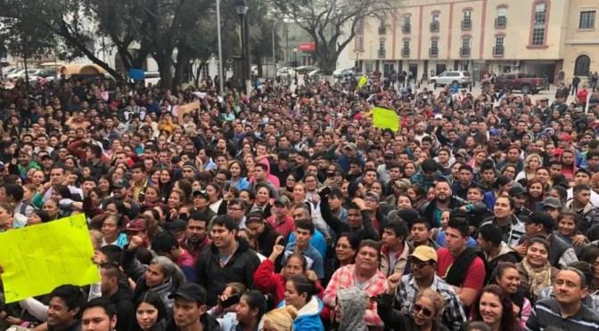 México: Los huelguistas  le muestran a la clase obrera cuál es la respuesta a la reacción capitalista en la frontera con EEUU