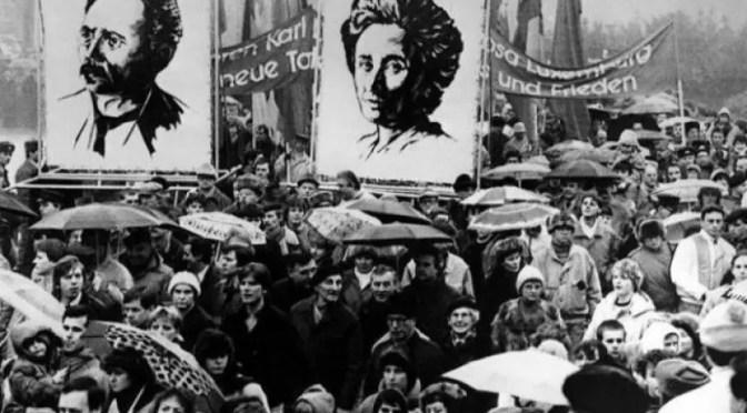 Rosa de Luxemburgo, Karl Liebknecht y la revolución alemana