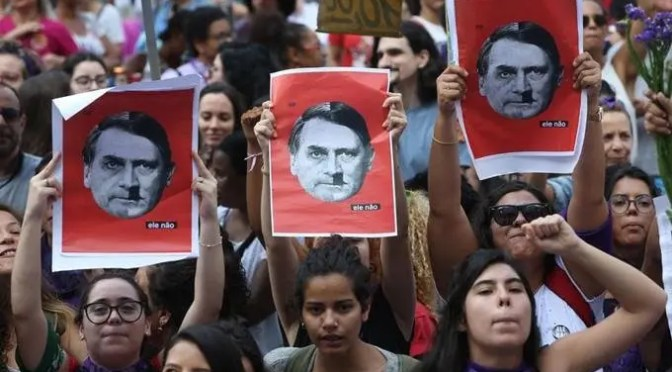 Brasil: Nosotros, la basura marxista
