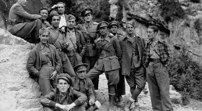 Militares chilenos rojos en la Guerra Civil Española