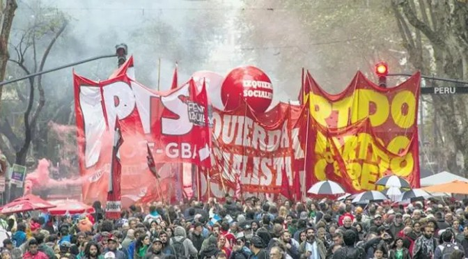 Argentina: llamado a construir un Frente Único Revolucionario