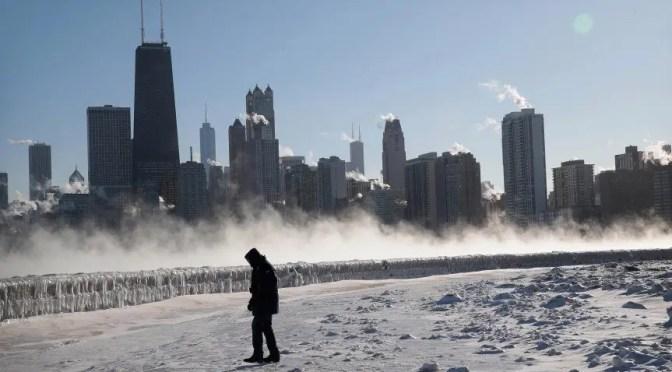 El Vórtice polar y el Capitalismo: Los trabajadores deben liderar la lucha en torno al cambio climático