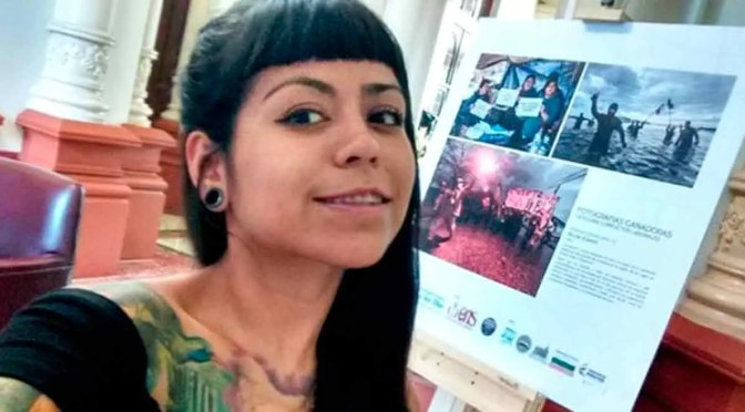 Nicole Kramm, periodista chilena atropellada por la tanqueta de los desertores en la frontera venezolana