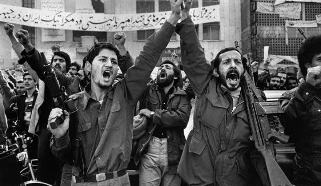 La revolución iraní