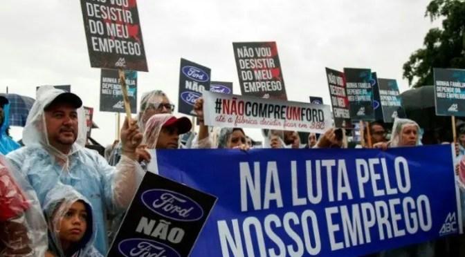 Tiempos Mejores de Bolsonaro: cierran planta de Ford en Brasil lo que destruirá hasta 27.000 puestos de trabajo