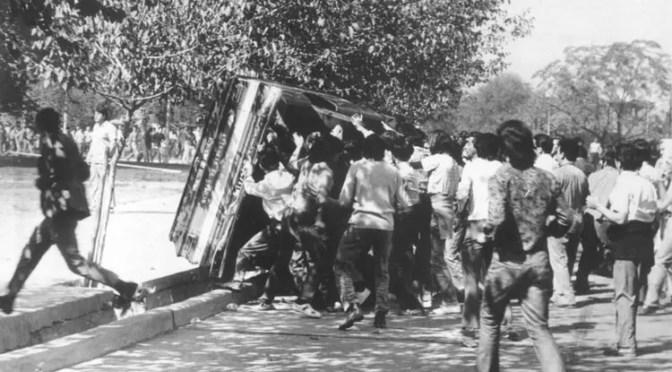 Historia argentina: Paso, paso, paso… se viene el mendozazo