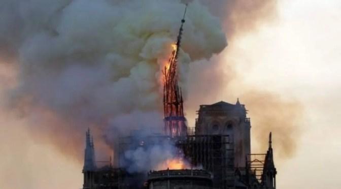 Francia: incendio de Notre-Dame, el capitalismo destruye nuestro patrimonio histórico