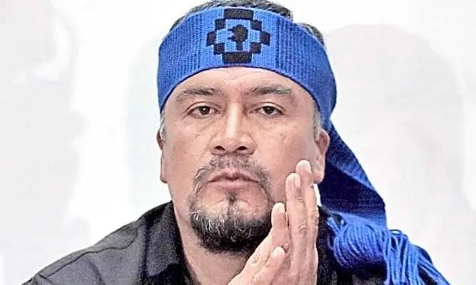 """Héctor Llaitul recuerda cómo conoció a Sergio Moya: """"Cuando me detuvo, él andaba armado"""""""