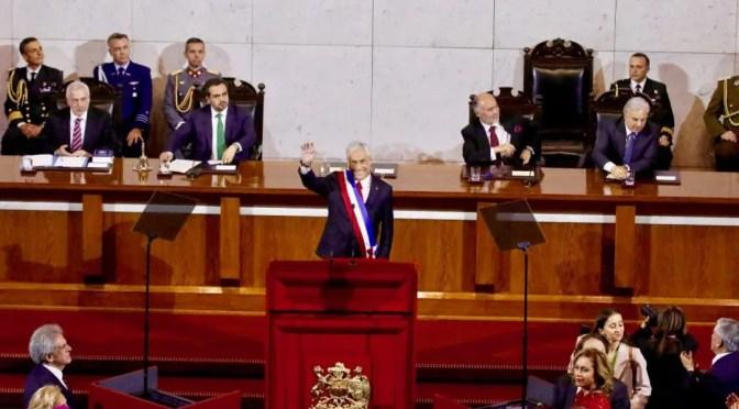 Cuenta pública de Piñera: el delirio de las promesas, la impotencia de la oposición y la protesta popular