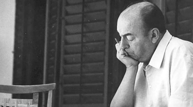Poema de Neruda: «Farewell»