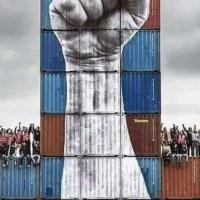 Vuelven las movilizaviones de los portuarios