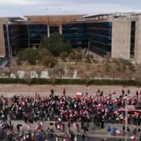 "Cuarto día de huelga en Chuquicamata: sindicatos dicen que ""Codelco miente"""
