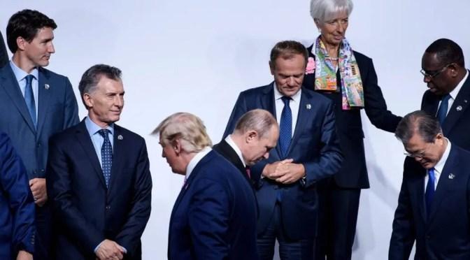 La Cumbre del G20 en Osaka: la guerra de todos contra todos