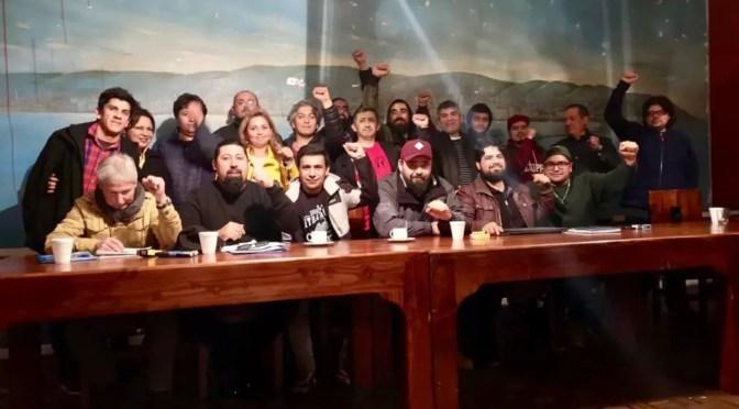 Portuarios de San Antonio, Valparaíso y Ventanas proclaman la unidad para movilizarse