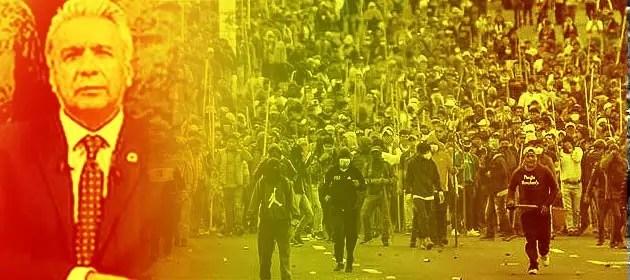 Ecuador: Las masas señalan el camino para acabar con el Gobierno antinacional y antipopular de Lenin Moreno