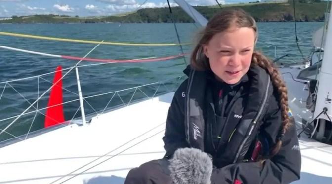 No odiamos a Greta Thumberg, odiamos a quienes la usan: la misma burguesía que contamina la Tierra.
