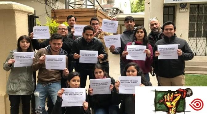 Totalmente silenciada: la dura huelga de Radio Biobío