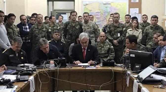 Piñera está fuera de la Constitución: presenta tu amparo preventivo contra el Toque de Queda