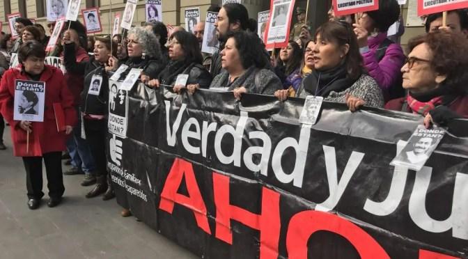 Agrupación Familiares de Desaparecidos rechaza intento de liberar a los asesinos de Punta Peuco