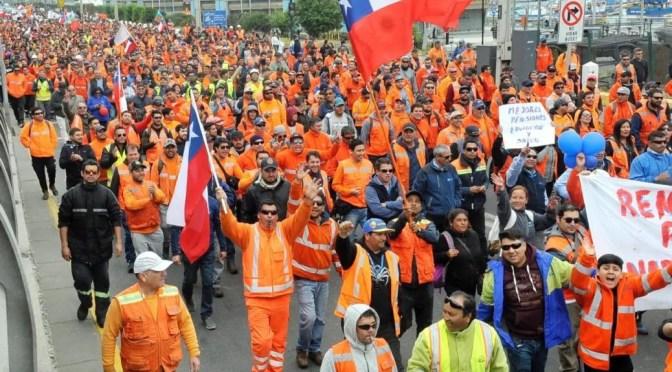 """Unión Portuaria de Chile rechaza el """"Acuerdo por la Paz y la Nueva Constitución"""""""