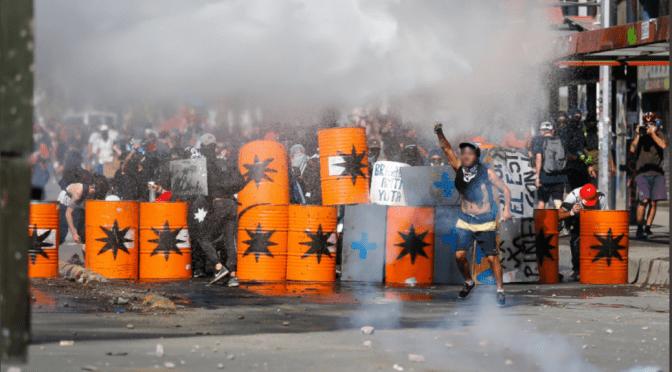 Hacia la unidad ardiente de los que luchan