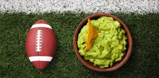 Aguacate en el super bowl