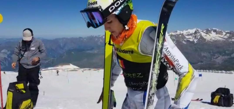 Fi a l'estada dels equips nacionals de la FAE als Alps