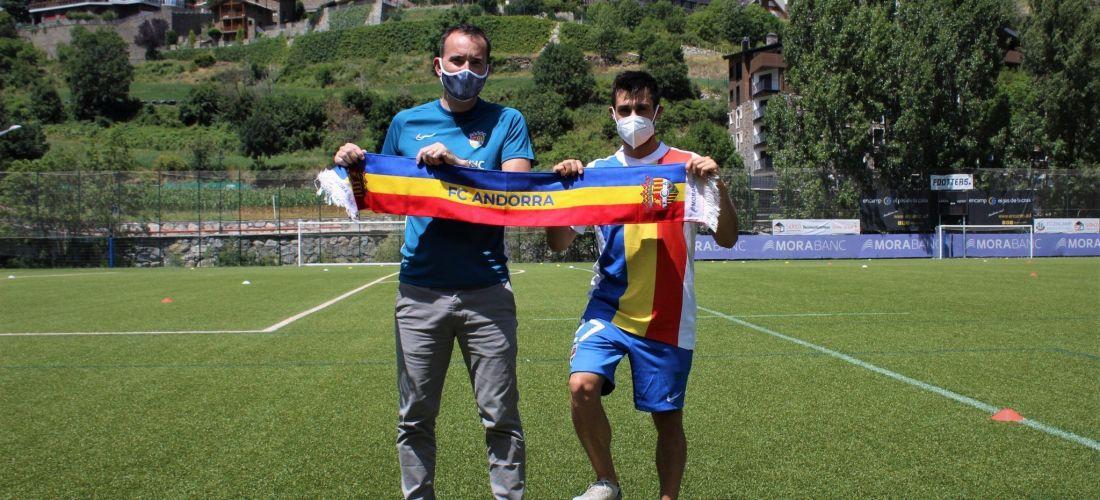 David Martín, al FC Andorra
