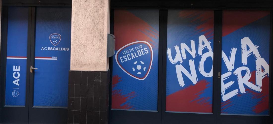 L'Atlètic Club Escaldes estrena nova seu social