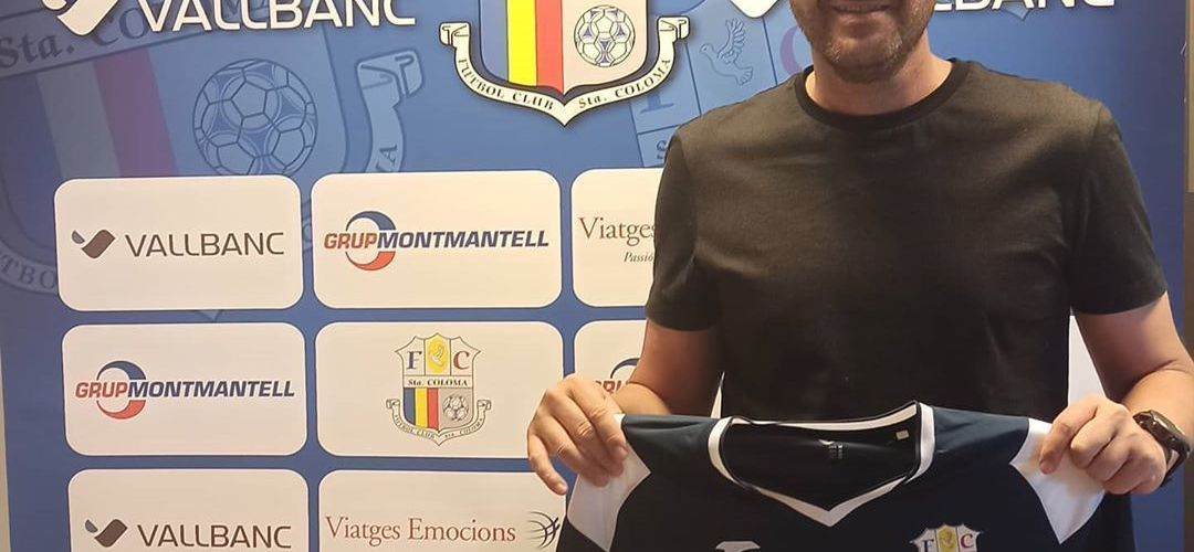 El bescanoní Albert Jorquera, nou entrenador delVallbancFCSanta Coloma