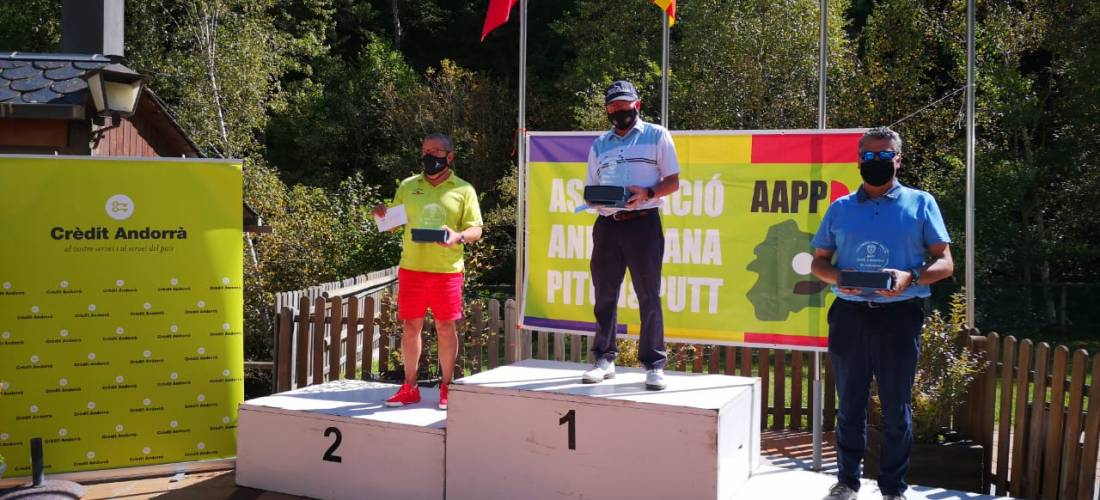 Josep Martínez campió de l'Open d'Andorra absolut de pitch&putt