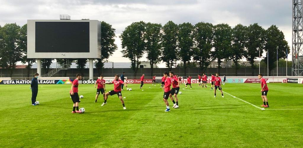 Andorra juga contra Letònia a l'estrena de la Nations League