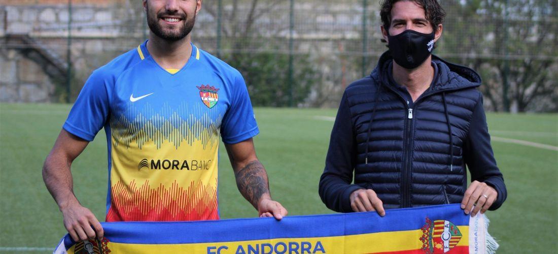 Àlex Pastor, el nou central pel FC Andorra