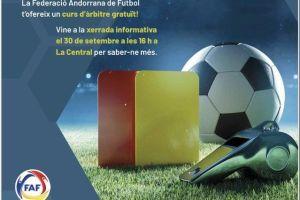 El Comitè d'àrbitres de la FAF organitza un curs gratuït