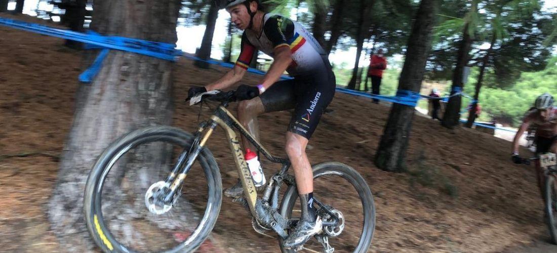 11è lloc de Kilian Folguera al Campionat d'Espanya XCO per culpa d'una caiguda
