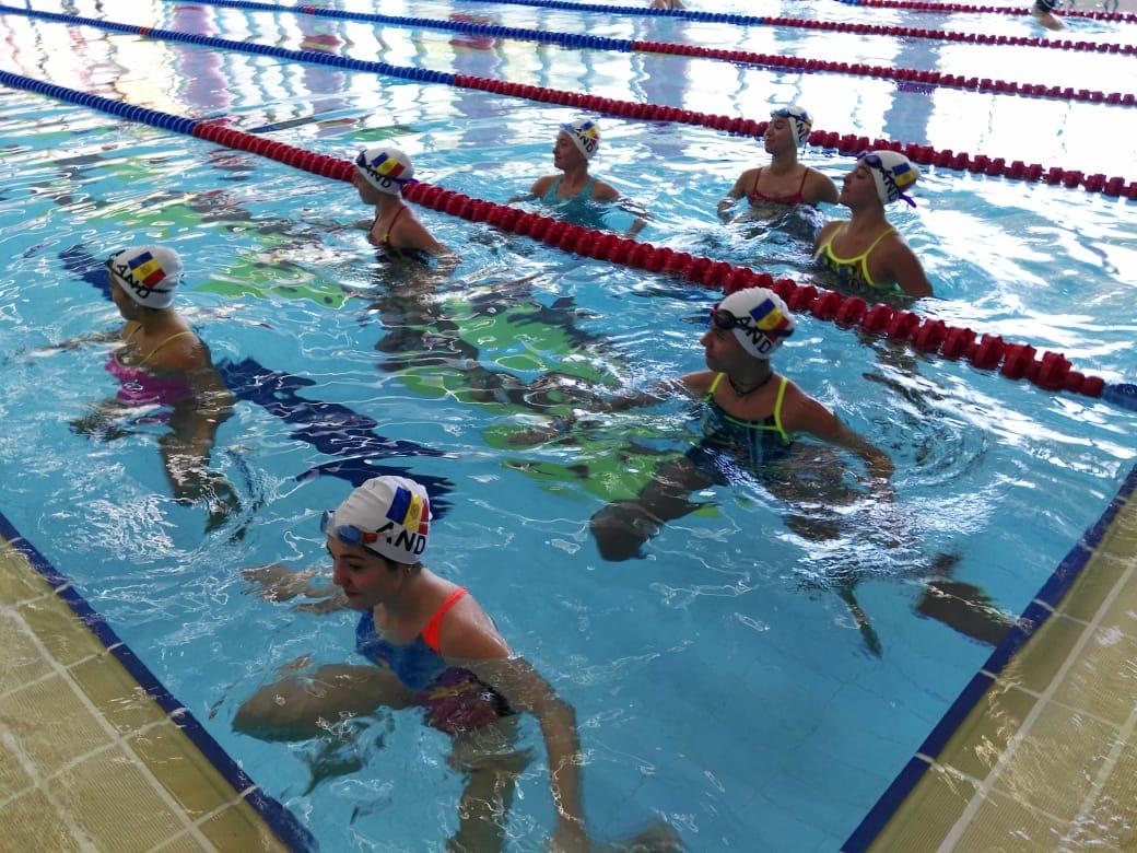 Els equips nacionals de natació artística inicien els entrenaments
