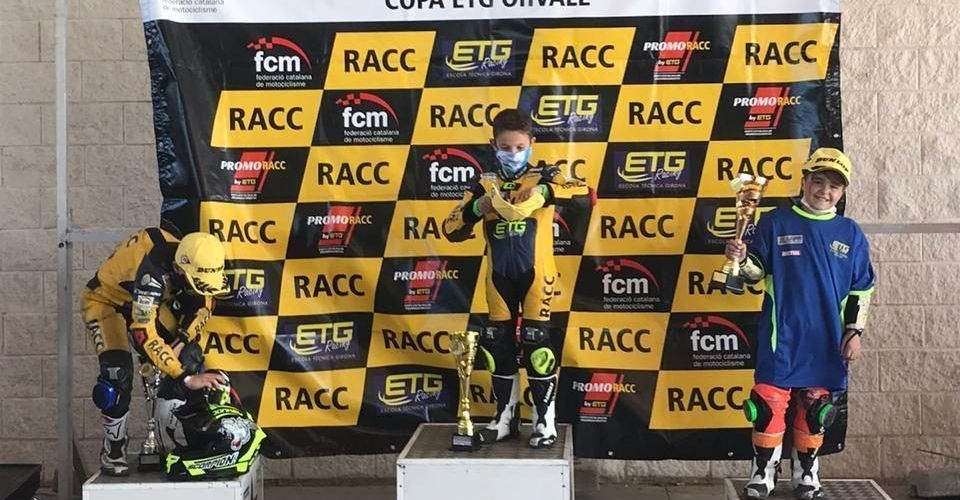 Èric Da Silva acaba tercer a la Copa Catalana de promo de Zuera
