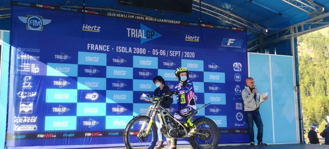 Gabriel, Garcia i Cristina debuten al mundial de trial
