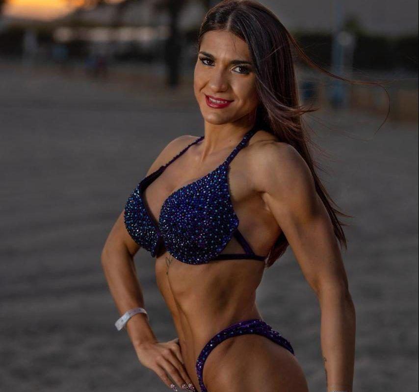 Andrea Almagro, sisena a l'europeu de fitness