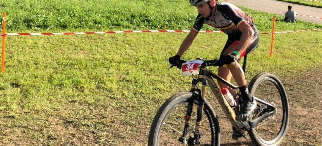 Kilian Folguera preparat pel Campionat d'Espanya de Valladolid