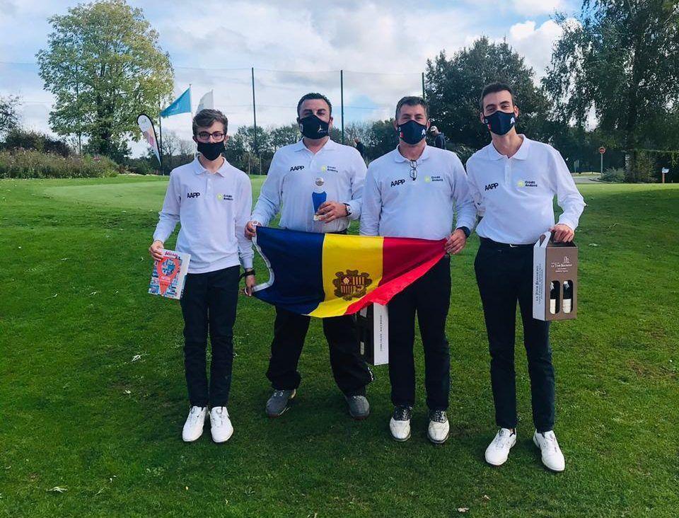 Andorra ocupa el quart lloc de la Copa de França de clubs de pitch&putt