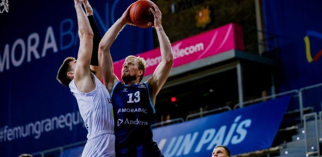 El Morabanc Andorra guanya 76-66 però permet al Lietkabelis sortir amb opcions d'Andorra