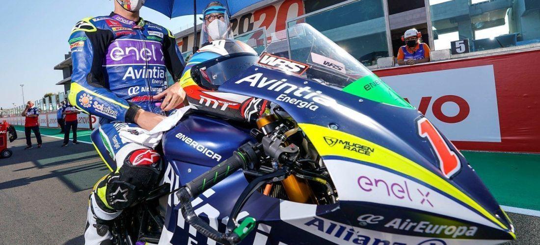 Les MotoE es desendollen amb una doble cursa a Le Mans