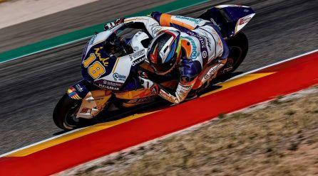 Cardelús segueix millorant a Motorland en Moto2