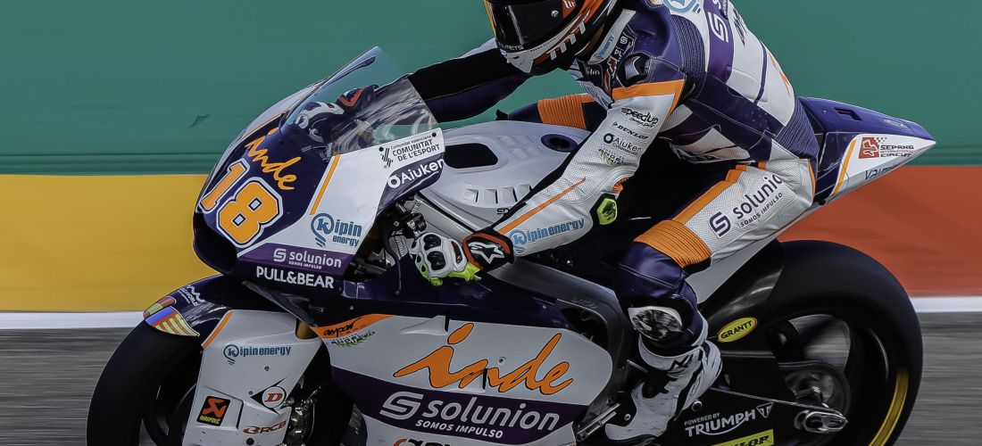 Cardelús sortirà 28è en el GP de Terol de Moto2