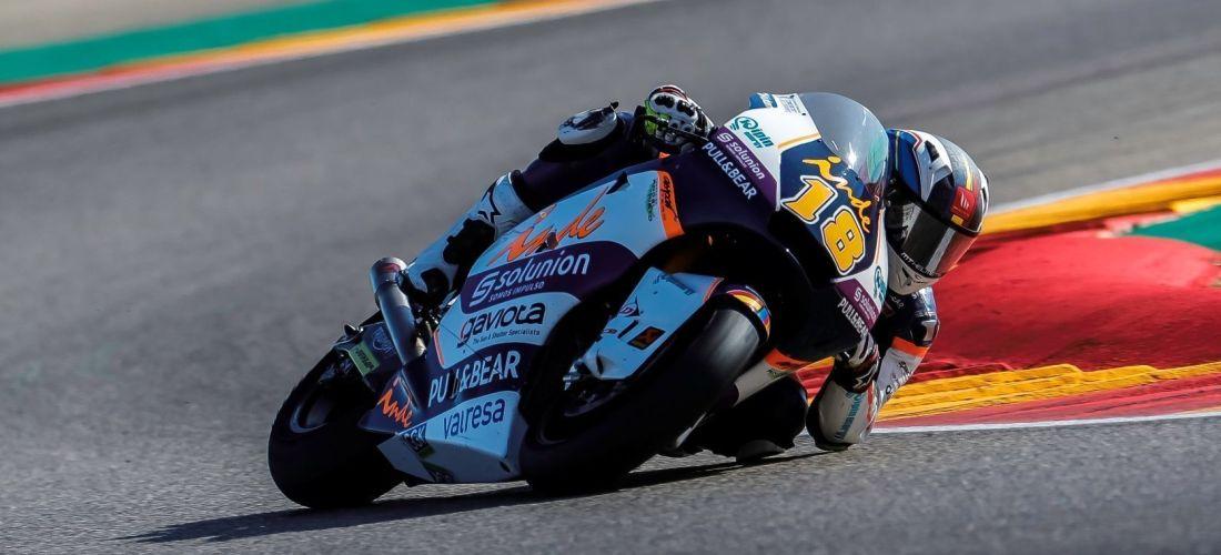 Xavi Cardelús acaba 22è en el GP de Terol de Moto2