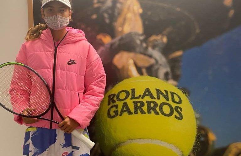 Jiménez Kasintseva derrota 6-2 i 6-4 a Roignot i passa a segona ronda de Roland Garros