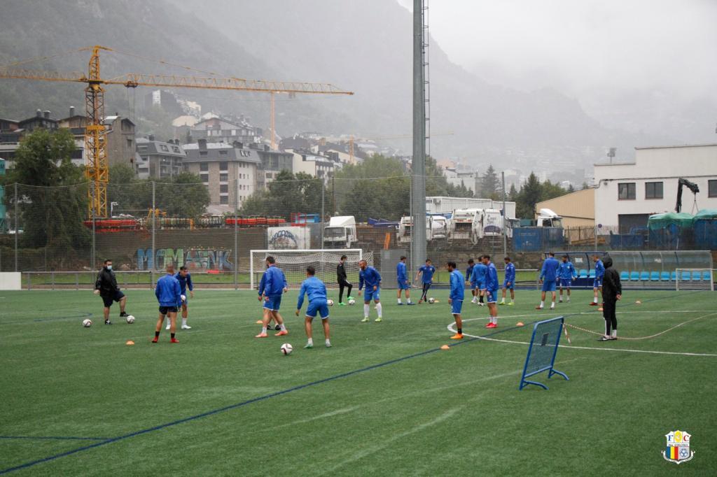 Govern licita les obres de la gespa dels camps de la FAF a Borda Mateu